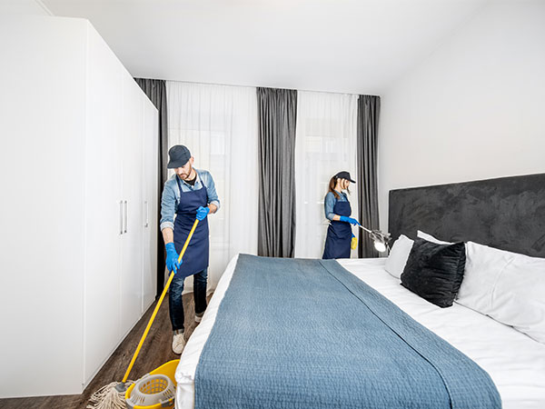 Hotel Room Cleaning Services | Katsam Property Services