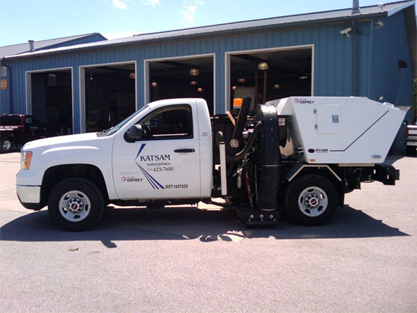 Parking Lot Sweeping Services | Katsam Property Services